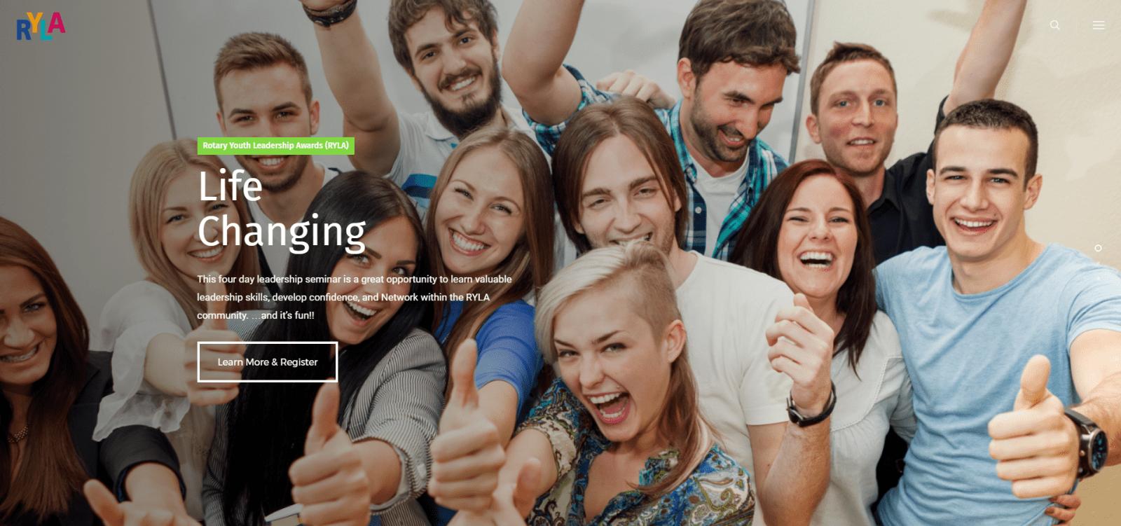 Youth Adventures in Leadership Website