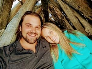 Alex Bonesteel and his Girlfriend Anna